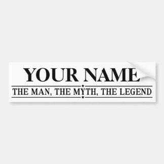 Personlignamn manen mythen legenden bildekal