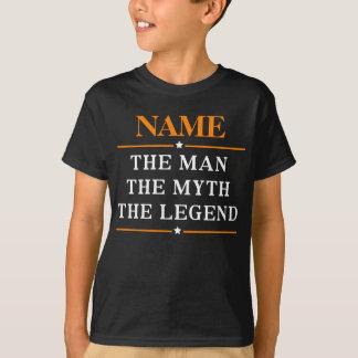 Personlignamn manen mythen legenden t-shirt
