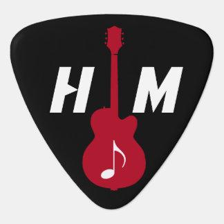 personligobjekt för gitarristen plektrum