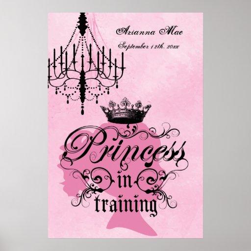 PersonligPrincess i utbildningsbarnkammareaffisch Affischer