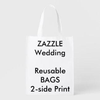 """Personligt bröllp 12"""" x 16"""" återvinningsbart återanvändbara påsar"""