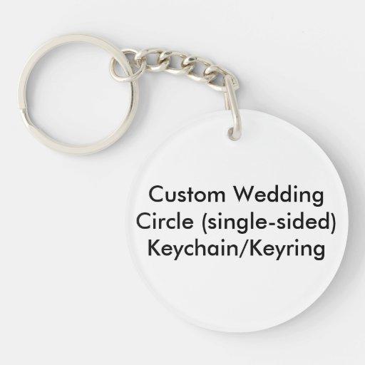 Personligt bröllp cirklar enkelsidiga keds skor