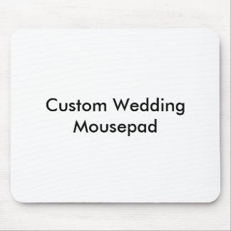 Personligt bröllp Mousepad Mus Mattor