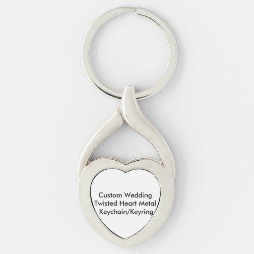 Personligt bröllp vred hjärtametall