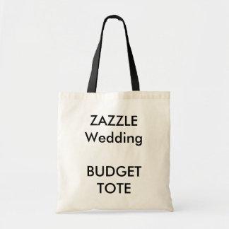 Personligt bröllpbudgettotot hänger lös med SVART Budget Tygkasse