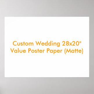 Personligt bröllpgåva eller minnessakaffisch posters