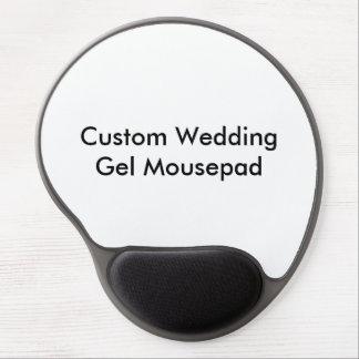 Personligt bröllpGel Mousepad Gelé Mus-mattor