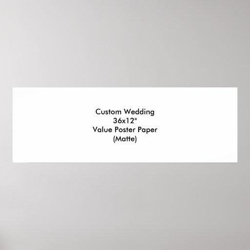 Personligt bröllpspara dateraaffischerna print