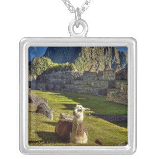 Peru Andes, Andes berg, Machu Picchu, 2 Silverpläterat Halsband