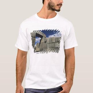 Peru Cuzco, Sacsayhuaman fästning, bra exempel T-shirt