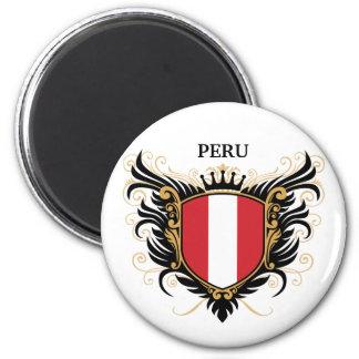 Peru [personifiera], magnet