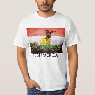Peshmerga KURDISH FRIHETSKÄMPAR Tshirts