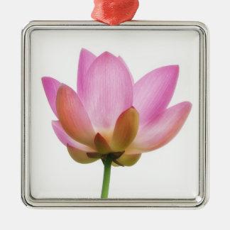 Petals för blomma för Om-lotusblommarosor Julgransprydnad Metall