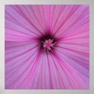 Petals för rosablommahjärta print