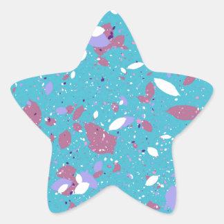 Petals Stjärnformat Klistermärke