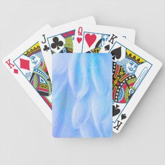 Petalscykel som leker kort spelkort