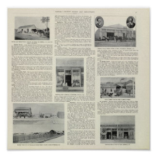 Petaluma affärer, Kalifornien Poster
