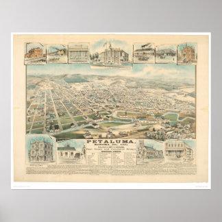 Petaluma CA. (1314A) Poster