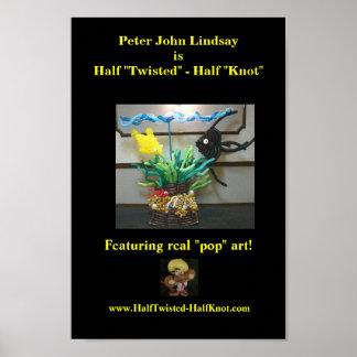 Peter John vridna Lindsay är halvt - den halva fnu Poster