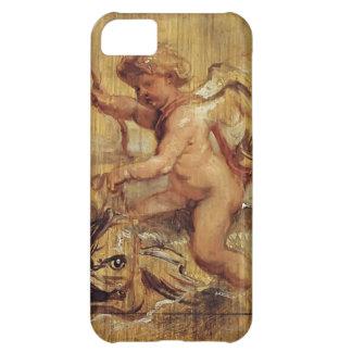 Peter Paul Rubens- Cupid som rider en delfin iPhone 5C Mobil Skal