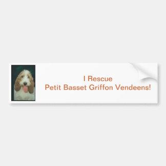 Petit Basset Griffon Vendeen Bildekal