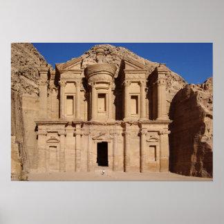 Petra-Jordanien Poster