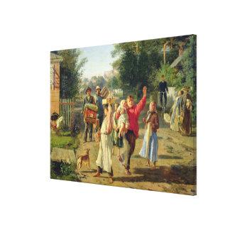Petrushka är kommande, 1888 canvastryck