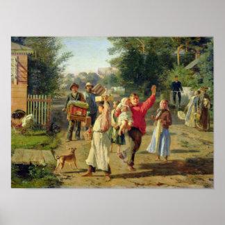 Petrushka är kommande, 1888 poster