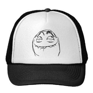 PFFTCH som skrattar ursinneansiktetecknaden Meme Trucker Keps