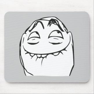 PFFTCH som skrattar ursinneansiktetecknaden Meme Musmatta