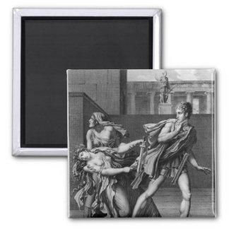 Phaedra, Oenone och Hippolytus Magnet