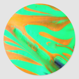 """Phantasmagoria"""" serie för #14 TLuv.Design© """" Runt Klistermärke"""