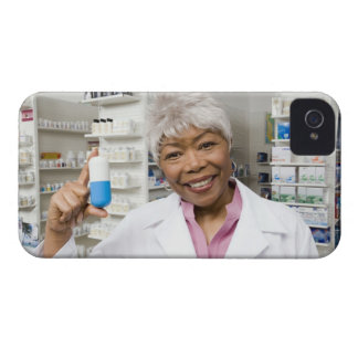 Pharmacist med den jätte- pillen Case-Mate iPhone 4 skydd