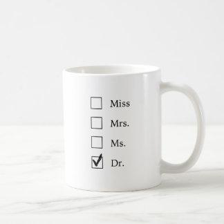 PhD-gåvor för kvinnor Kaffemugg
