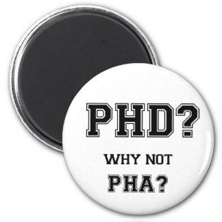 PhD? Varför inte PhA? Asiatisk far för Magnet