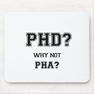 PhD? Varför inte PhA? PhD-studentengåva Musmatta
