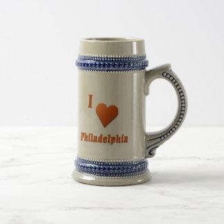 Philadelphia -- Bränd orange Ölkrus