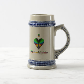 Philadelphia -- Gröna blått & orange Ölkrus