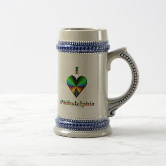 Philadelphia -- Gröna blått & orange Sejdel