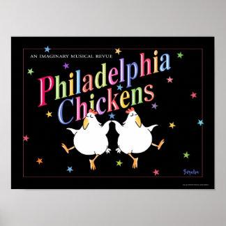 PHILADELPHIA HÖNAaffisch av Sandra Boynton Poster