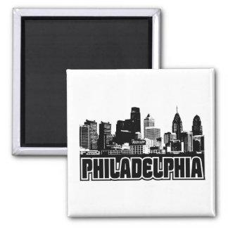 Philadelphia horisont magnet
