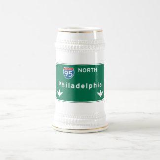 Philadelphia PA-vägmärke Ölkrus