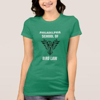 Philadelphia skolar av fågellagKelly grönt Tee Shirts