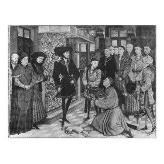 Philip bran, hertig av Burgundy Vykort