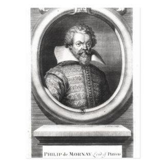 Philip de Mornay, räkning av Plessis Vykort