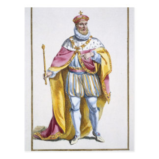 Philip II (1527-98) kung av Spanien från 'Receuil Vykort