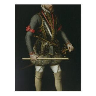 Philip II av Spanien Vykort