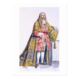 Philip Yorke (1690-1764) första Lord Hardwick från Vykort