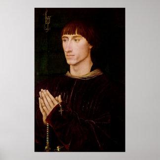 Philippe de Croy Seigneur av Sempy Poster