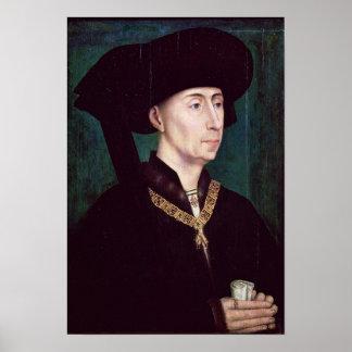 Philippe III le Bon, Duc de Bourgogne, c.1445 Poster
